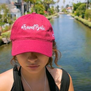 #TRAVELBABE DAD HAT WOMEN'S CAP
